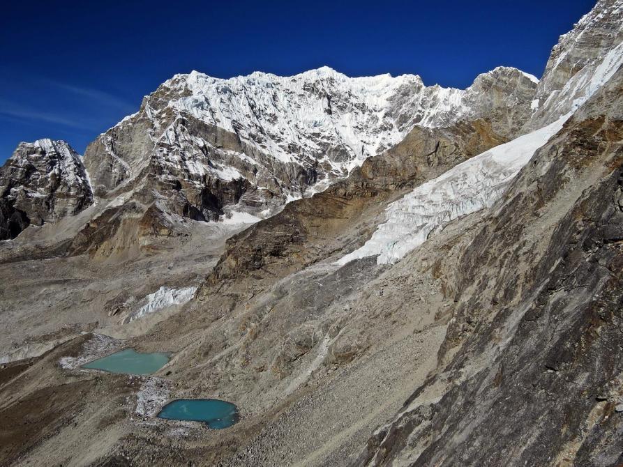 Gletscherseen hinter Kala Pattar, Himalaja