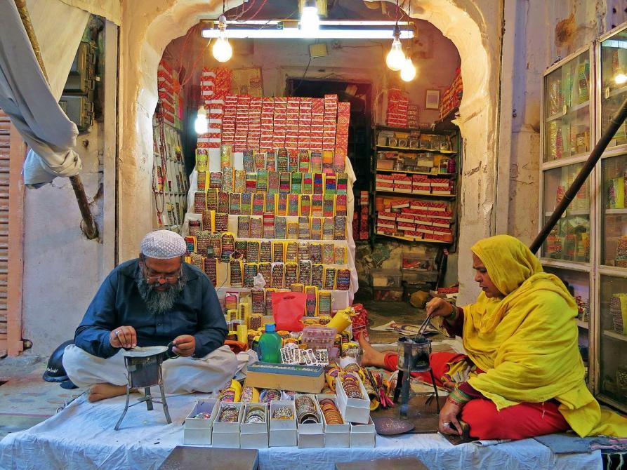 Schmuckgeschäft in Rajasthan