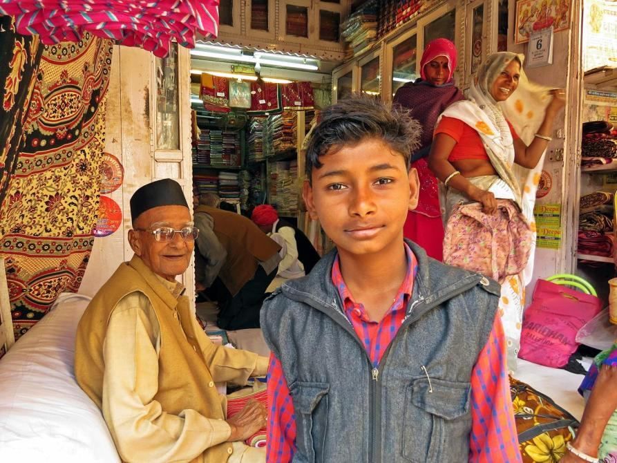 Junge in Rajasthan