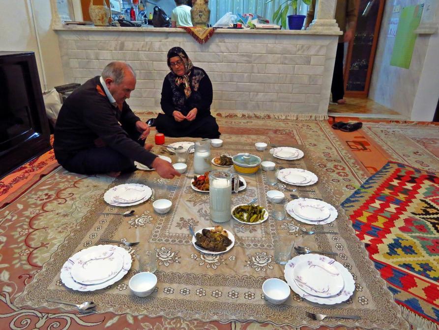 Abendessen im Iran