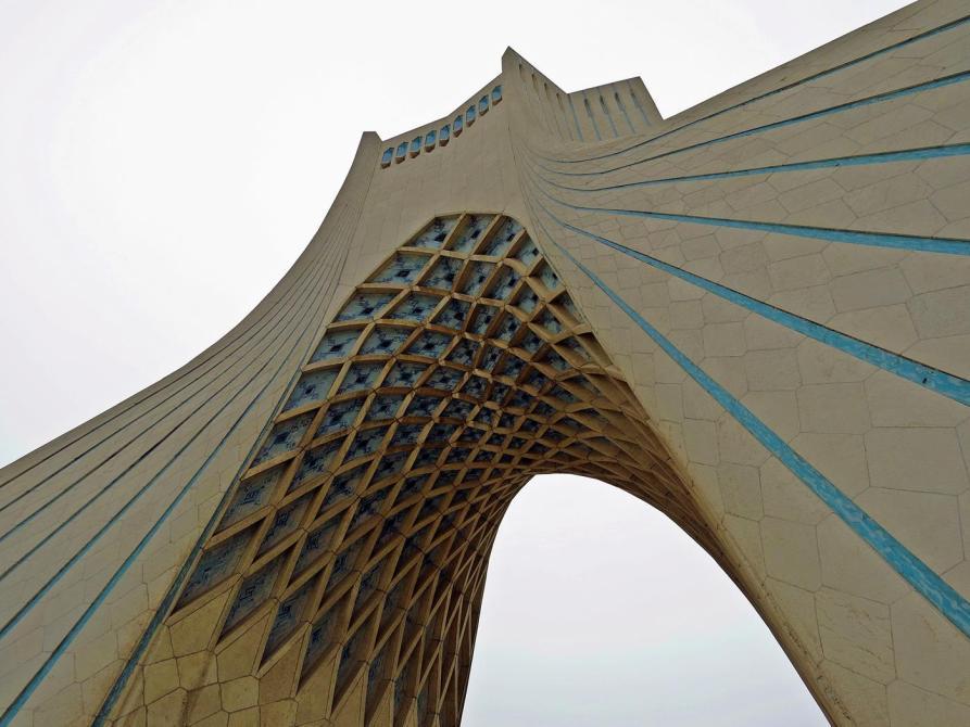 der Freiheitsturm in Teheran