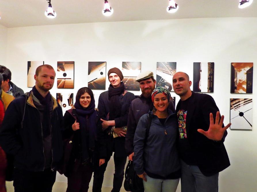 Fotoausstellung in Teheran
