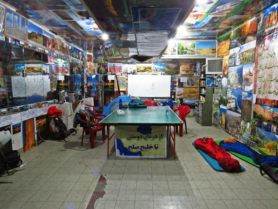 ein Keller in Teheran