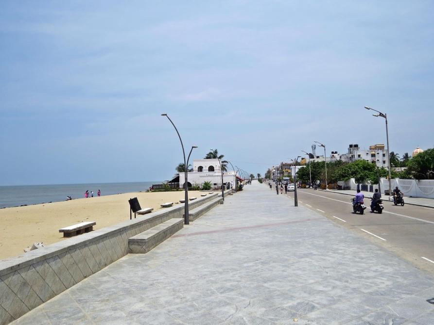 Promenade in Pondicherry