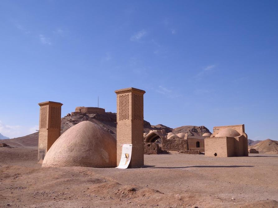 Turm der Stille und die Ruinen der Zoroastrier