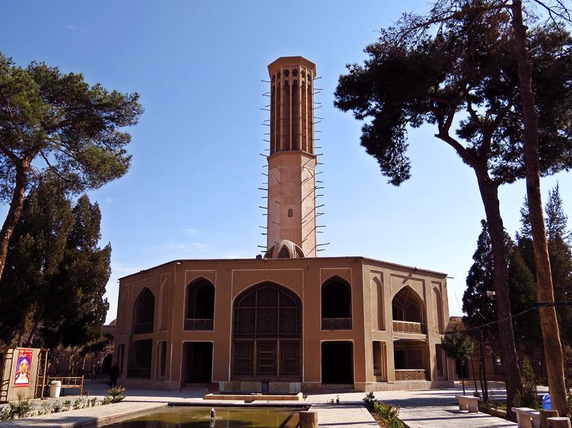 Sommerresidenz des Karim Khan im Dolat Abad
