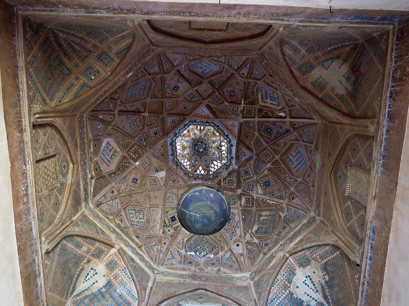 Kuppel in der Freitagsmoschee, Yazd