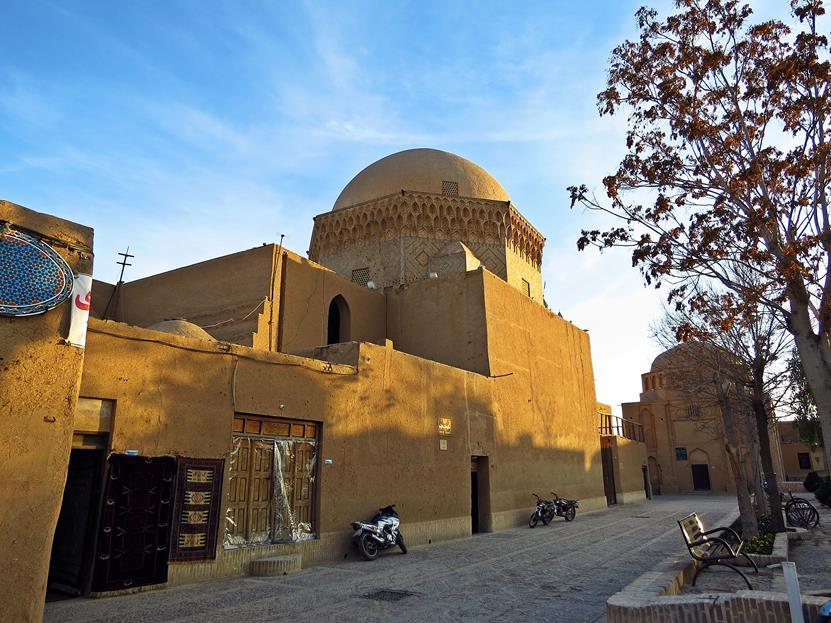 Abendstimmung in Yazd