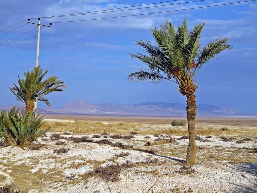 Salzwüste Kavir, Iran