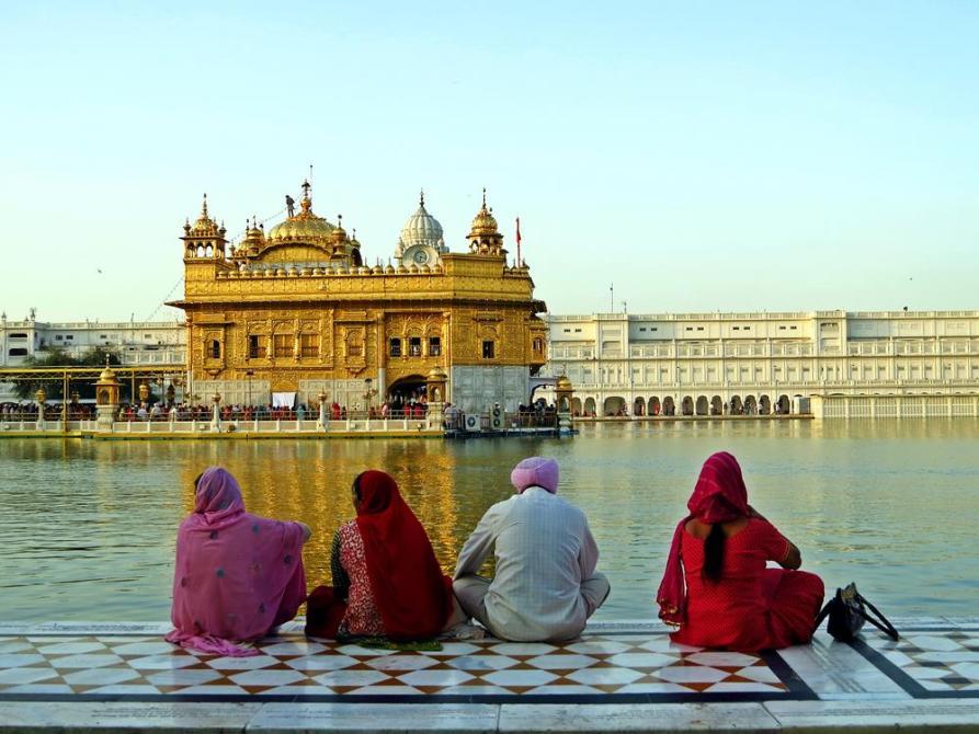 Goldener Tempel in Amritsar, Punjab