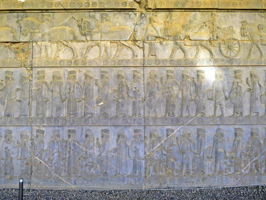 Wandrelief, Persepolis, Iran