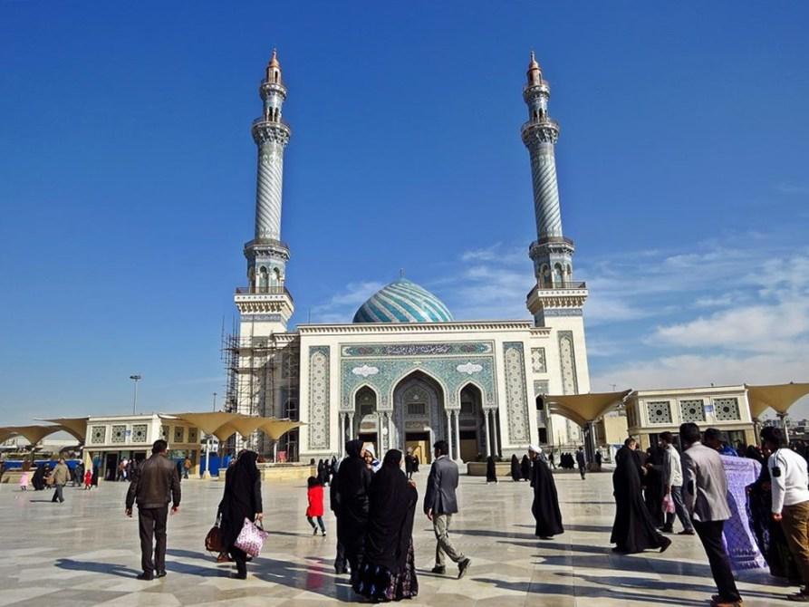 Imam al-Hasan al-Askari Moschee in Ghom