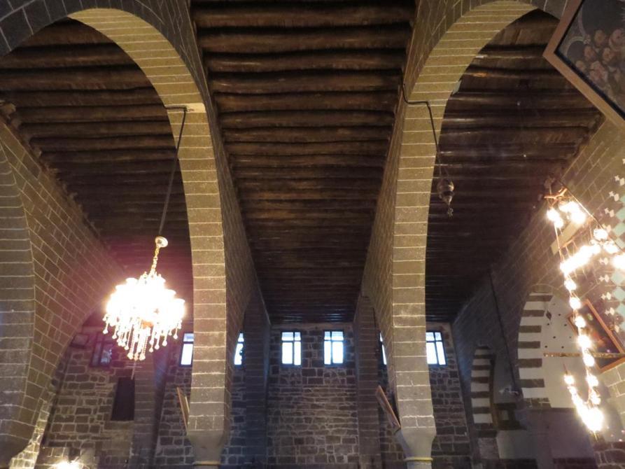 Gebälk der Sankt-Marien-Kirche, Diyarbakır