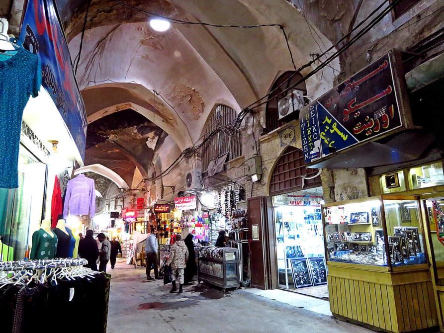 Basar-e Bozorg der große Markt von Isfahan, Iran
