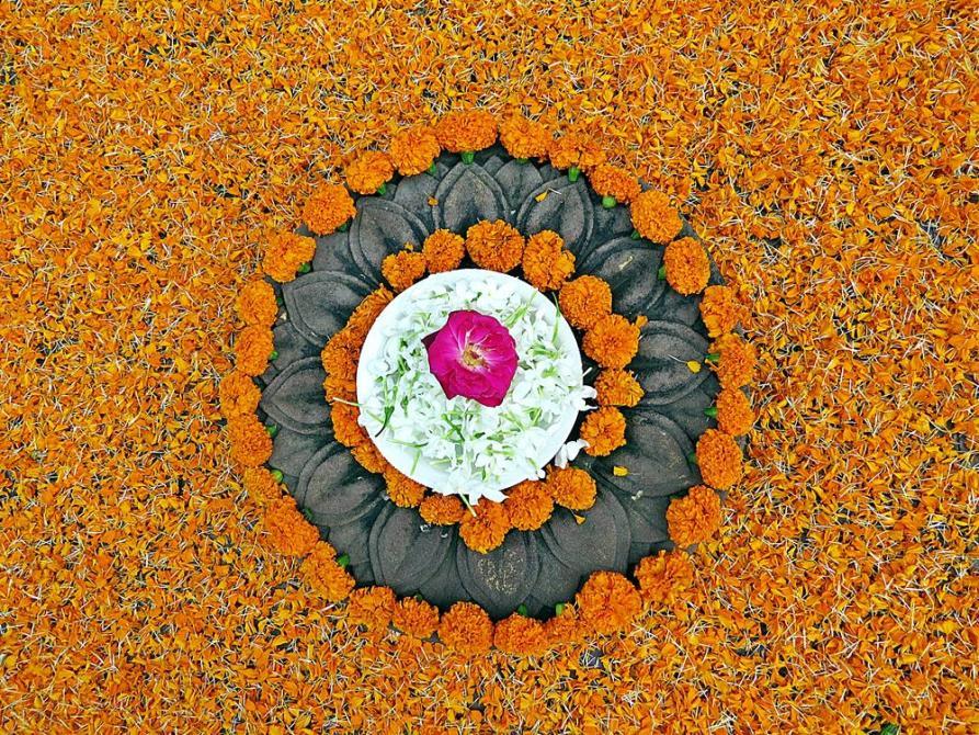 Indien, Kuriositäten, Puja