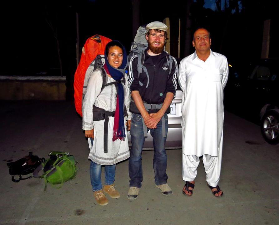 trampen in Pakistan