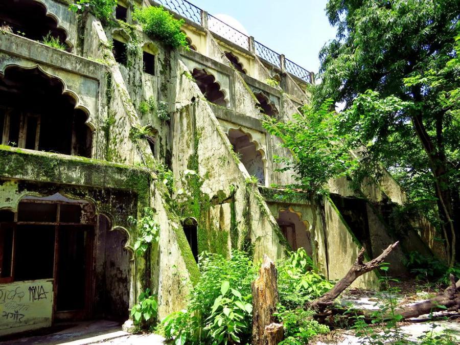 Maharishi Ashram, Rishikesh, India