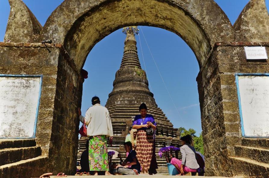 Mingala Man Aung Pagode, Mrauk U, Myanmar