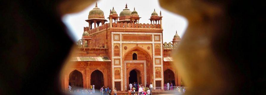 Agras Mogulkaiser und der Palast Fatehpur Sikri