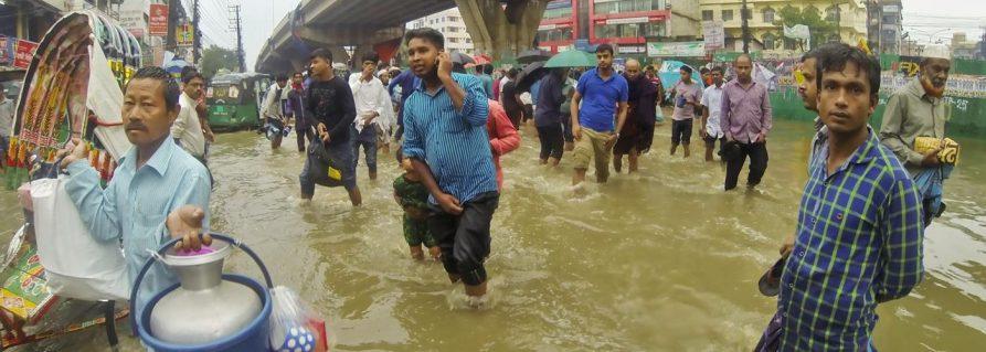 Chittagong geht baden