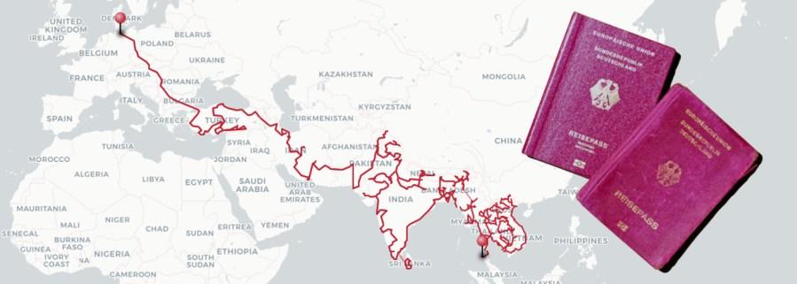 Visa Passport Asien