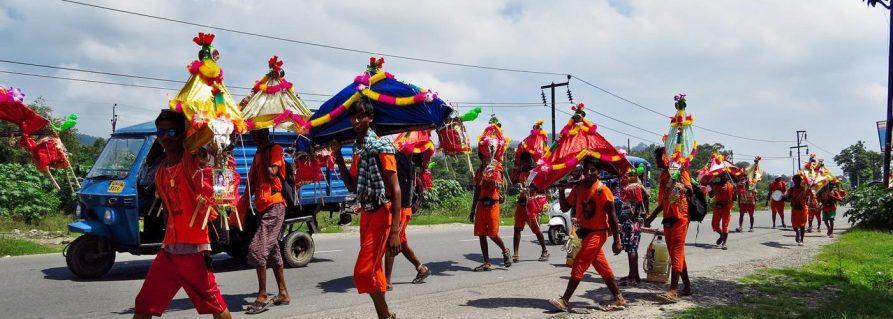 Barfuß nach Haridwar