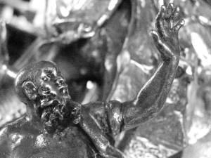 Fontana dei quattro fiumi - braccio