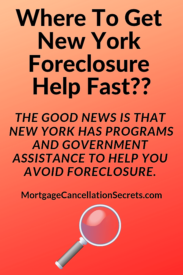 Where To Get New York Foreclosure Help Fast