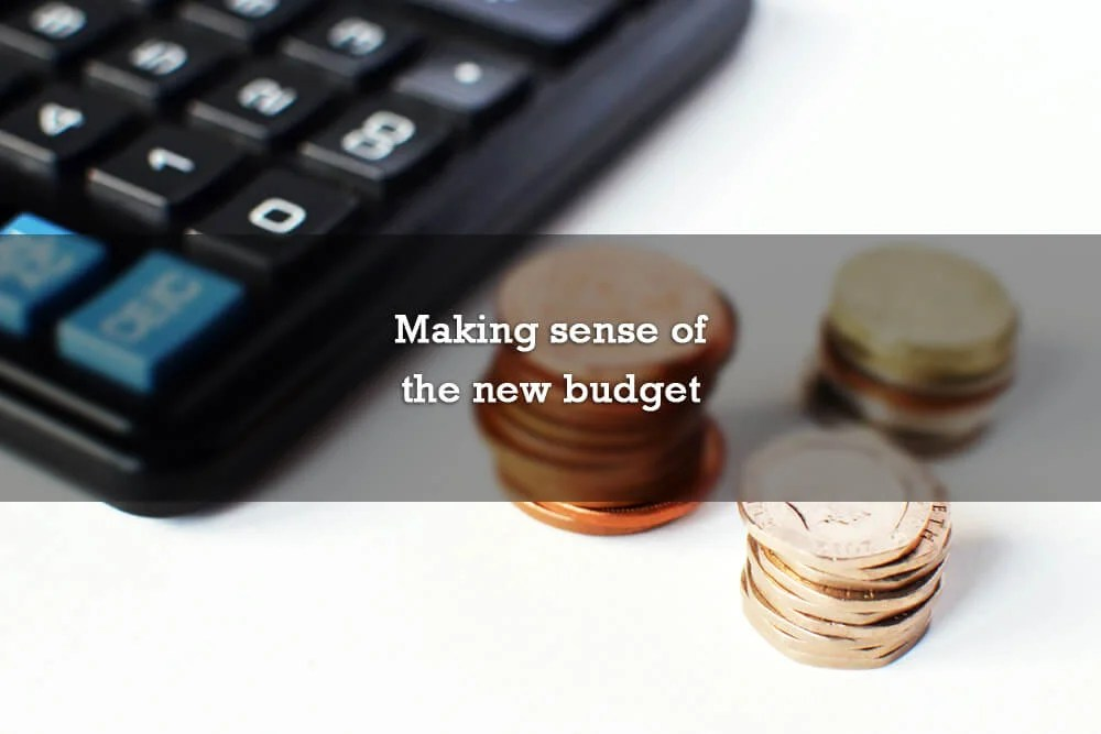 Making sense of the new budget