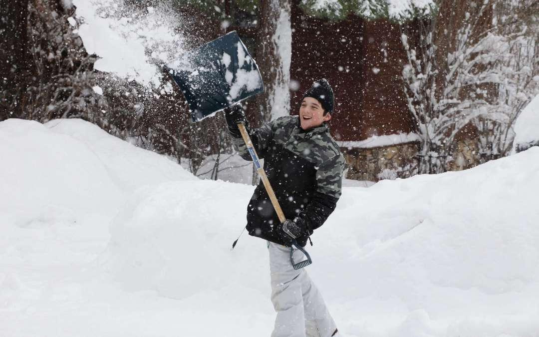 5 ways to repurpose the snow you shovel from your sidewalk