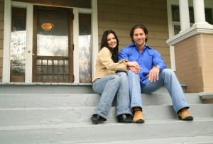Young Couple With New House