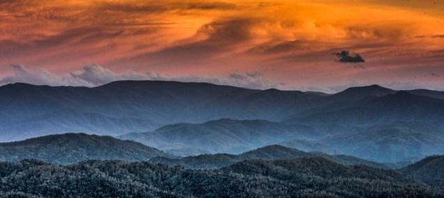 Sunset, Look Rock