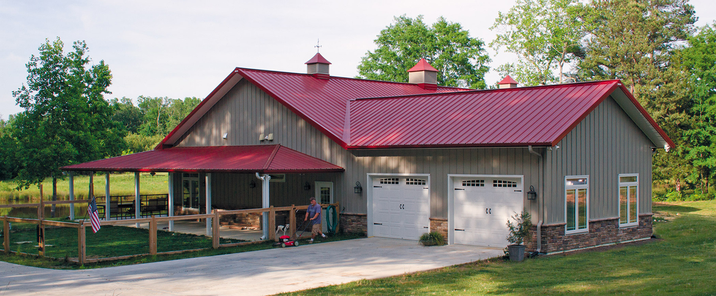 Morton Buildings Pole Barns Horse Barns Metal