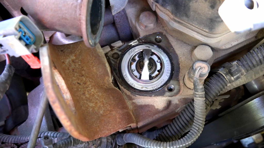the thermostat on a 6 7 cummins