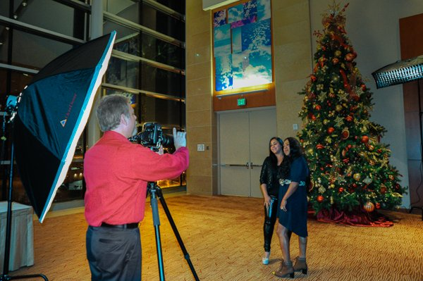 Morton Visuals photographs holiday parties and events