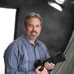 Studio portrait of photographer William Morton