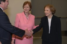 event photography of former First Lady Rosalyn Carter meeting APA guests at the San Diego Convention Center