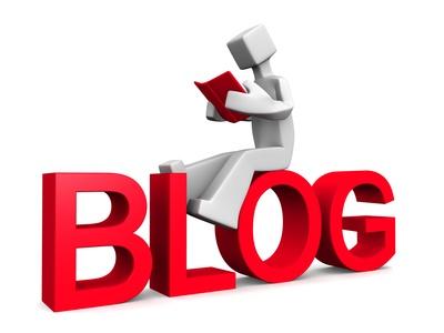 Internet blog reader concept