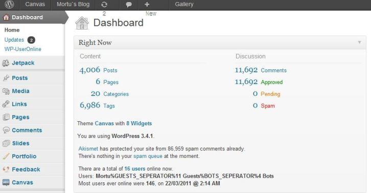 Mortu blog 4000 de articole