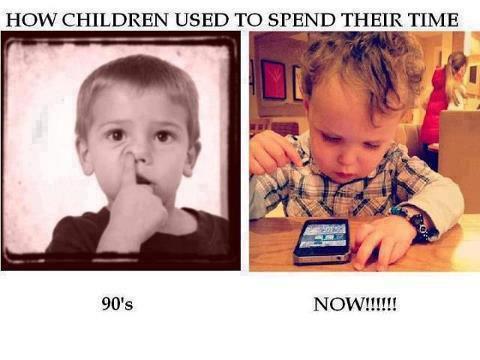 Cum isi petreceau copiii timpul