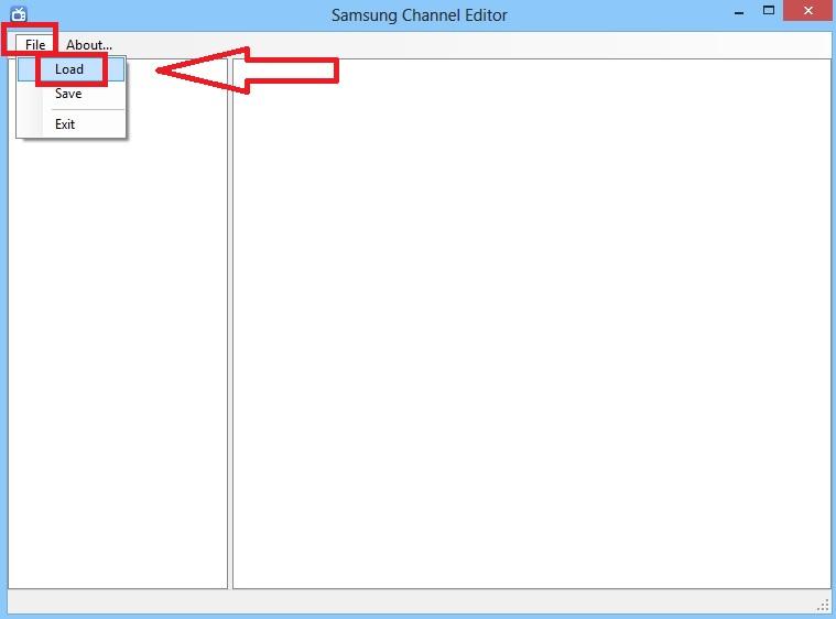 Samsung Channel Editor - 1