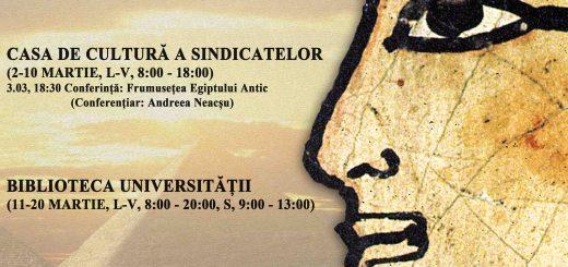 Expozitie Egiptul Antic la Oradea