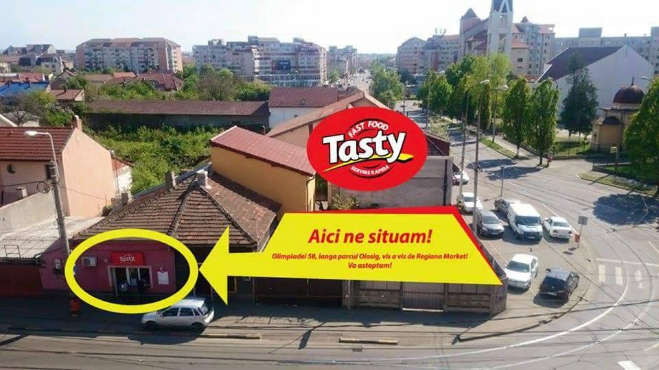 Tasty Oradea - locatie