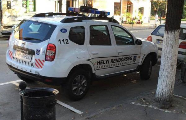 masina de politie - odorheiul secuiesc