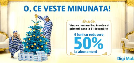 DigiMobil promotie Decembrie 2015