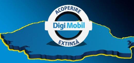 Acoperire DigiMobil extinsa