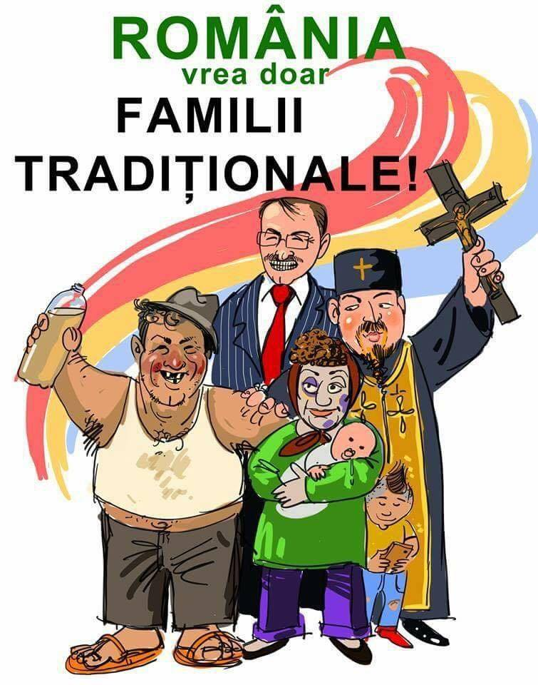 Romania - familia traditionala
