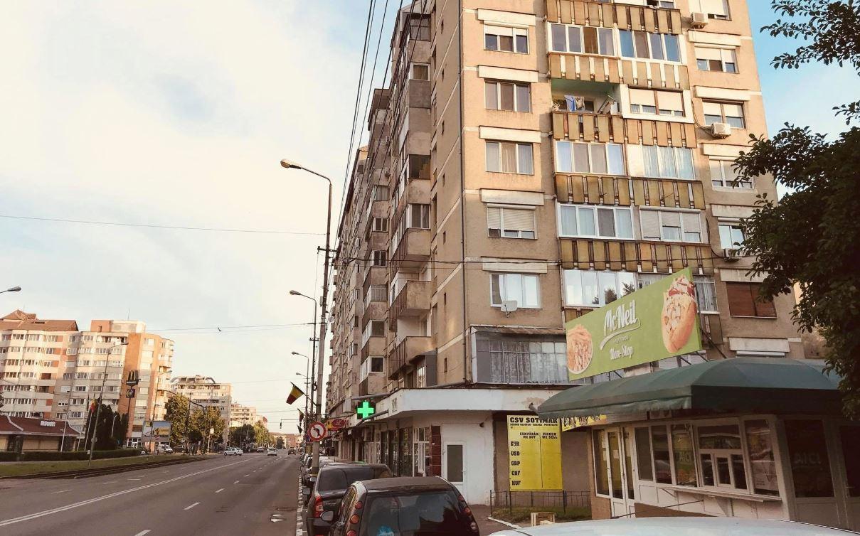 McNeil fastfood Oradea in cartierul Nufarul