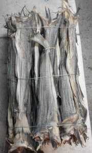 Morue emballage industriel