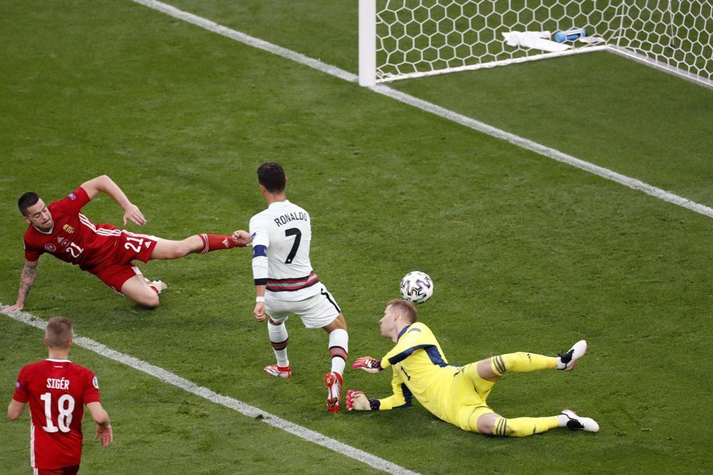 Record-setting Ronaldo scores 2, Portugal beats Hungary 3-0   MorungExpress    morungexpress.com